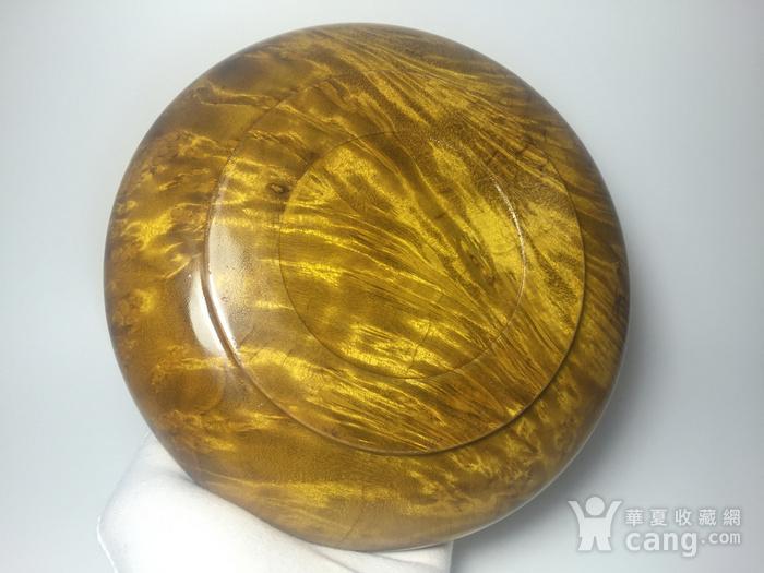 联盟 精品缅甸黄金樟笔洗 碧玺 图5