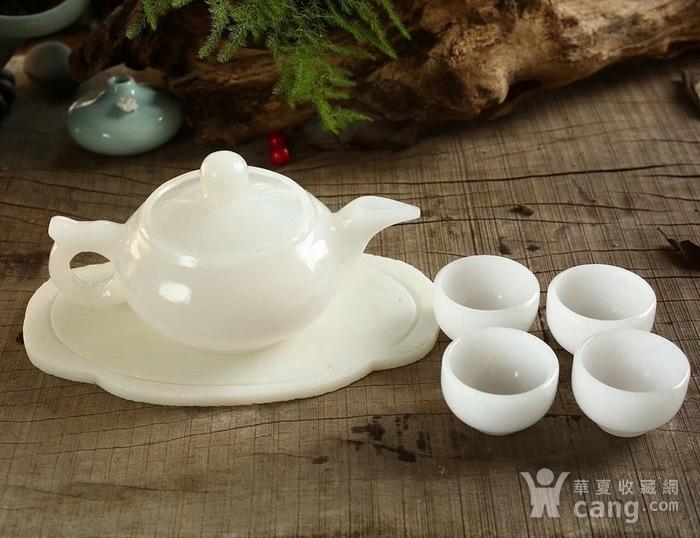 天然和田白玉茶具图4