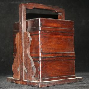 联盟 民国老红木提盒
