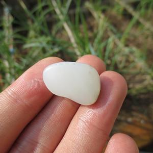 和田玉白玉籽料5.2g