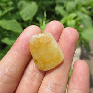 和田玉黄皮籽料6.5g