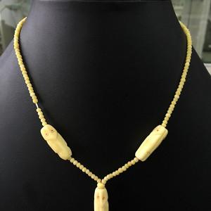 8093欧洲老象骨项链