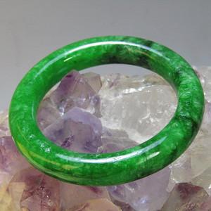 老坑 翡翠 满绿 袈裟环包浆熟厚