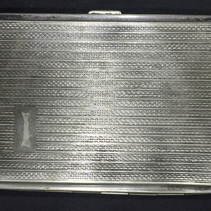 8095欧洲老合成银烟盒