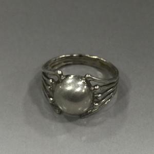 8099欧洲老银戒指