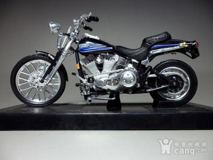 二十多年前的摩托车模型摆件!图2