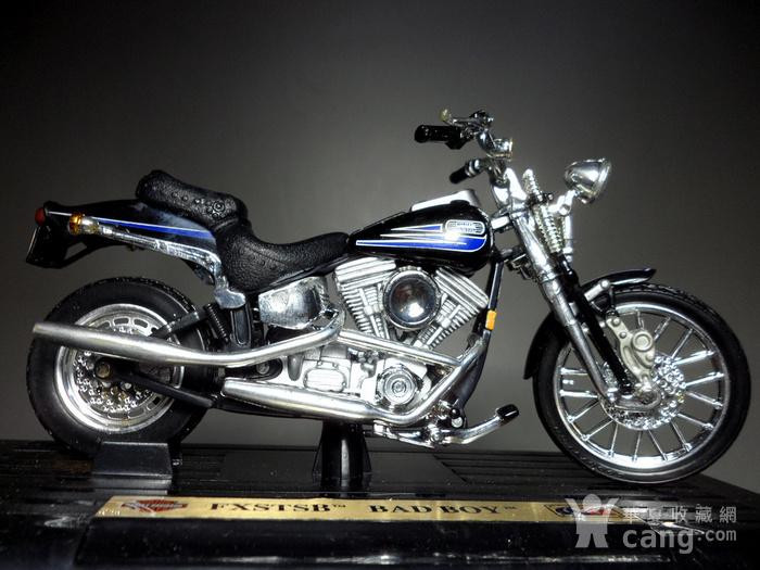 二十多年前的摩托车模型摆件!图5