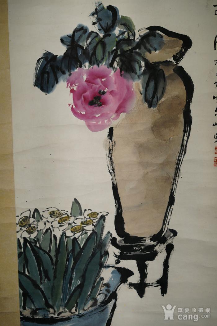 回流文革时期出去的老字画沪上名家朱屺瞻图7