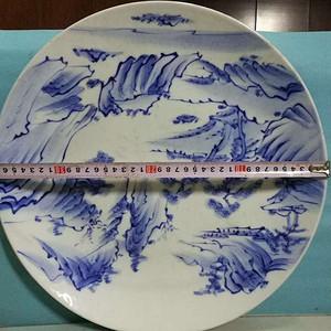 日本青花大瓷盘