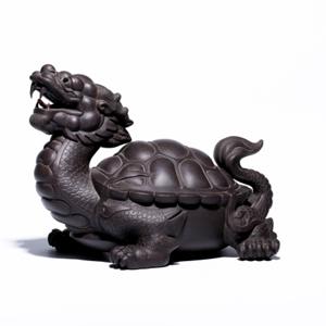 龙龟 紫泥 全手工成型