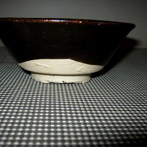 联盟 *黑釉碗