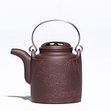牛盖洋桶 紫泥 国家级工艺美术员