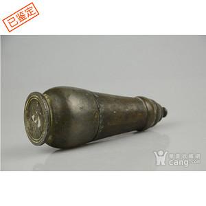清代铜制舍利瓶