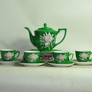 中国唐山瓷茶具一套