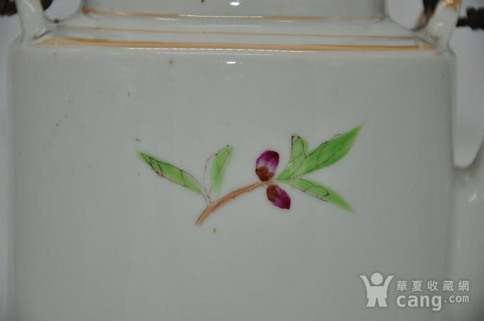 景德镇粉彩老茶壶图6