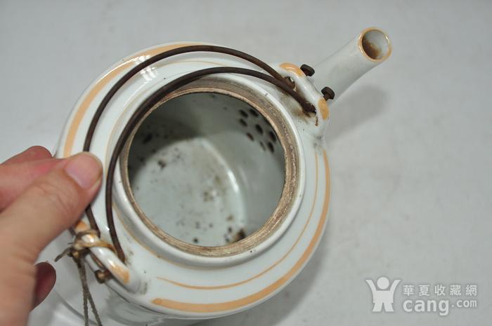 景德镇粉彩老茶壶图10