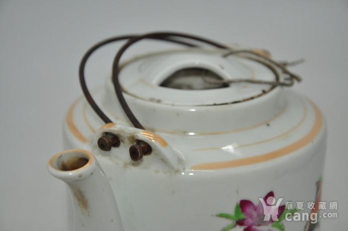 景德镇粉彩老茶壶图7