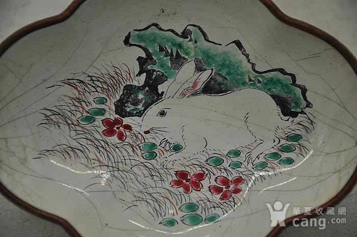 清末民国铜胎珐琅彩图2