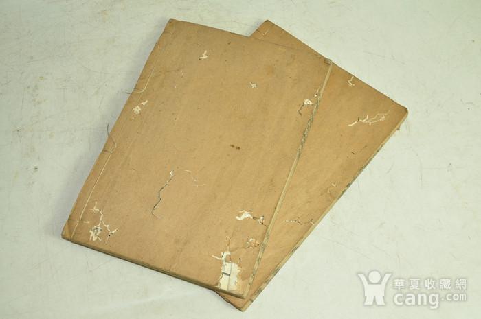 日本旧书 唐诗选国字解两册图12