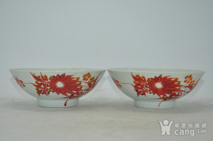 老瓷碗两个图6