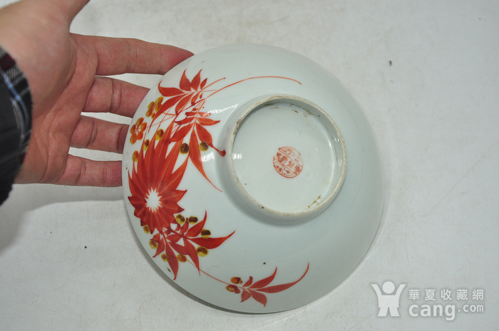 老瓷碗两个图9