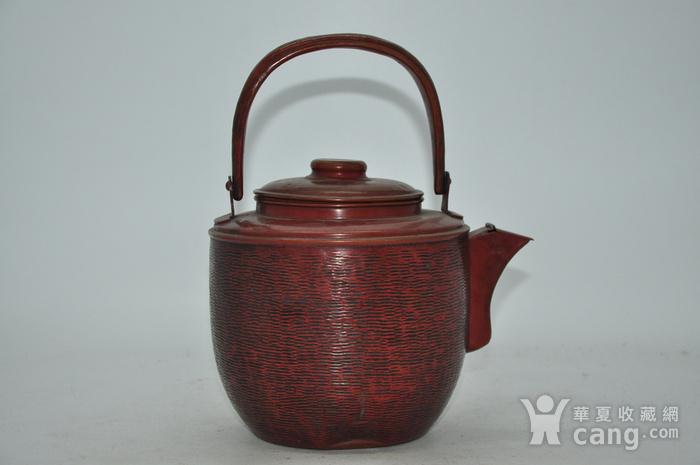 日本铜壶图2