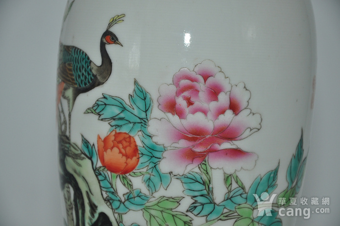 景德镇粉彩瓷瓶图7
