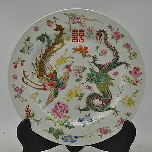 景德镇粉彩瓷碟