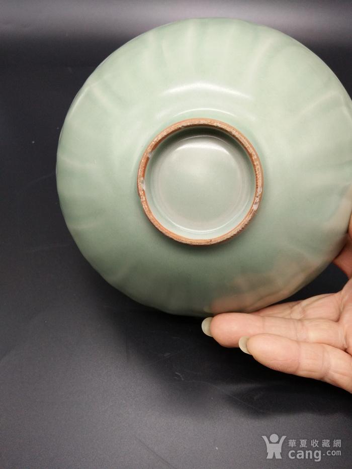龙泉窑梅子青碗图4