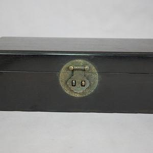 清 紫檀苏工文房盒