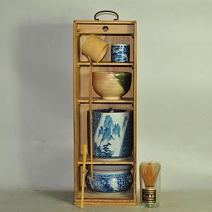 日本茶道器皿七件套