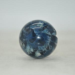 130.7克蓝水晶球