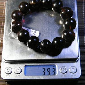 天然琥珀手链39.3克