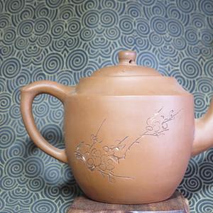 精品   60年代清水泥紫砂壶