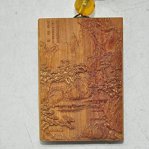 26.5克檀香木挂件