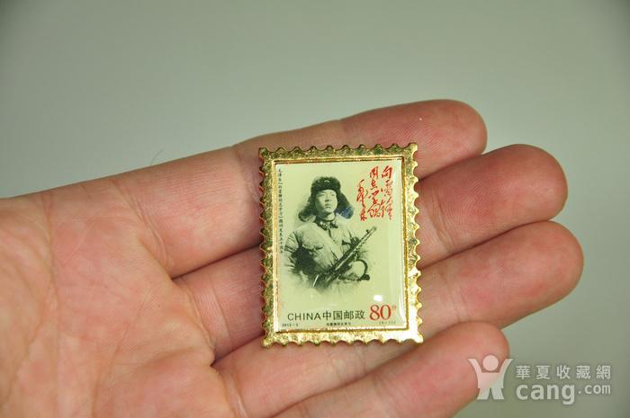 毛主席向雷锋同志学习发表五十周年纪念邮票珍藏两套图6