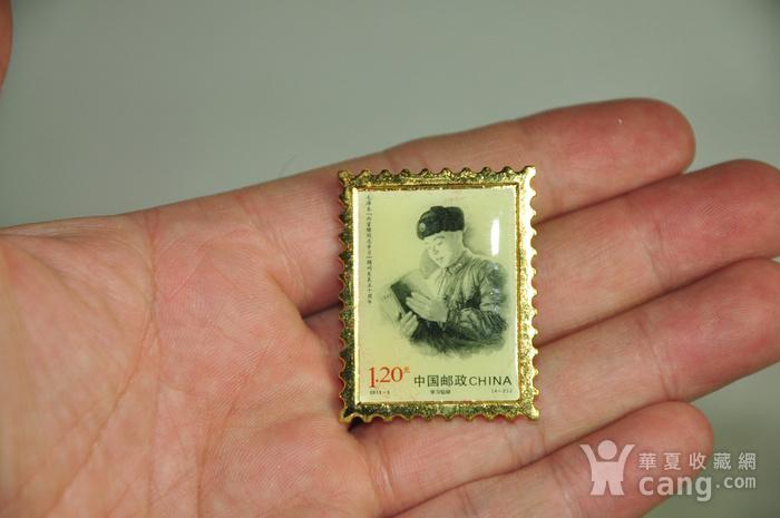毛主席向雷锋同志学习发表五十周年纪念邮票珍藏两套图7