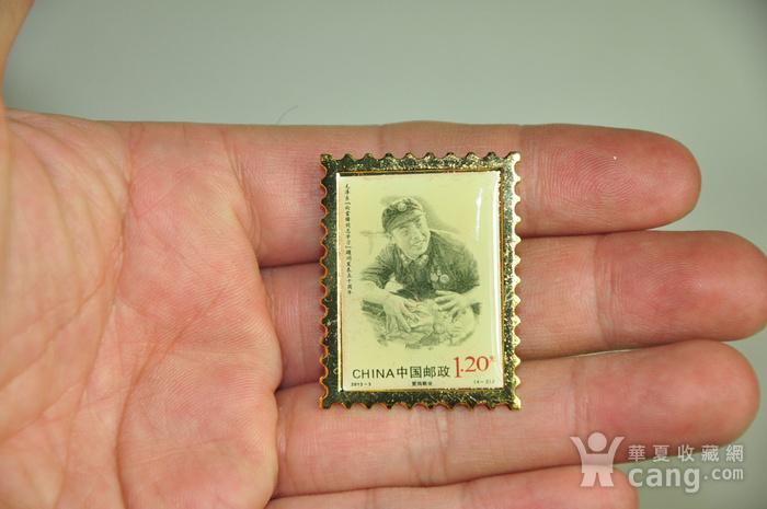 毛主席向雷锋同志学习发表五十周年纪念邮票珍藏两套图8
