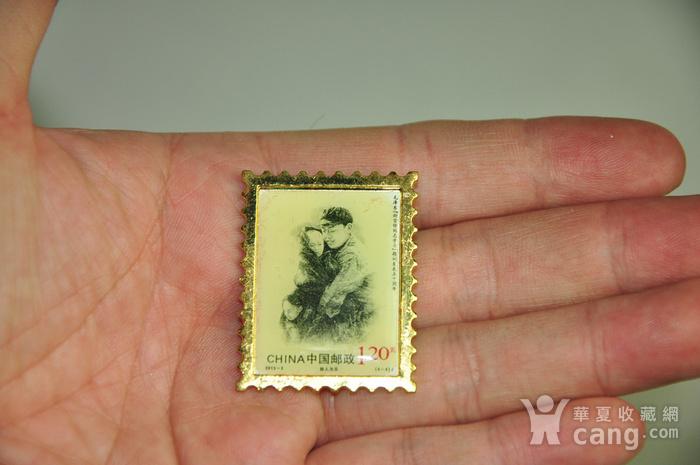 毛主席向雷锋同志学习发表五十周年纪念邮票珍藏两套图9