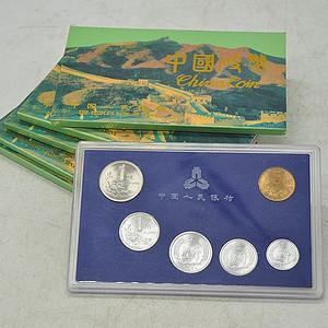 1991年版中国硬币五套