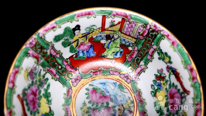 藏淘阁民国外销广彩全品碗一对CN03图7