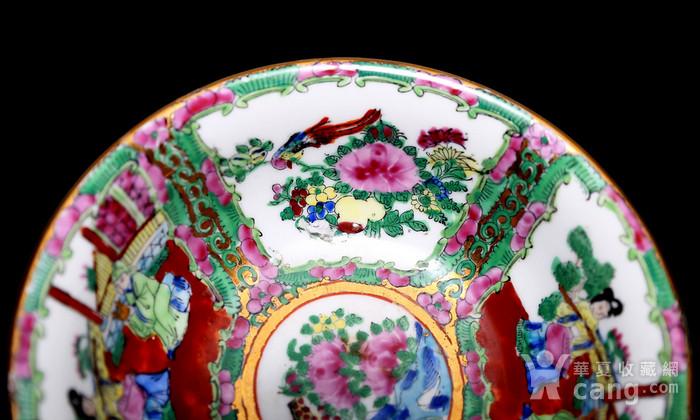藏淘阁民国外销广彩全品碗一对CN03图8