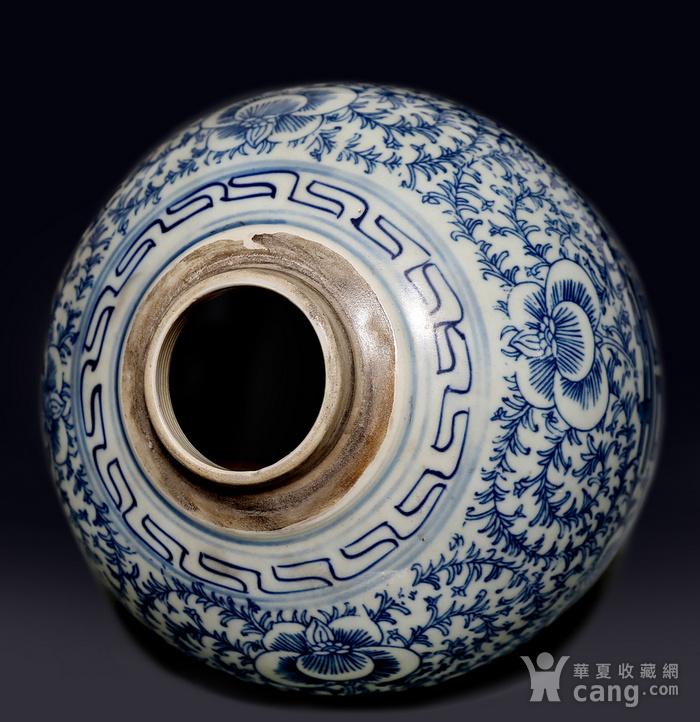 藏淘阁民国双喜青花罐无底价CN04图8