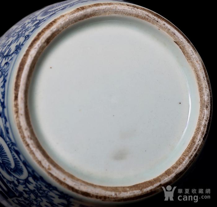 藏淘阁民国双喜青花罐无底价CN04图12