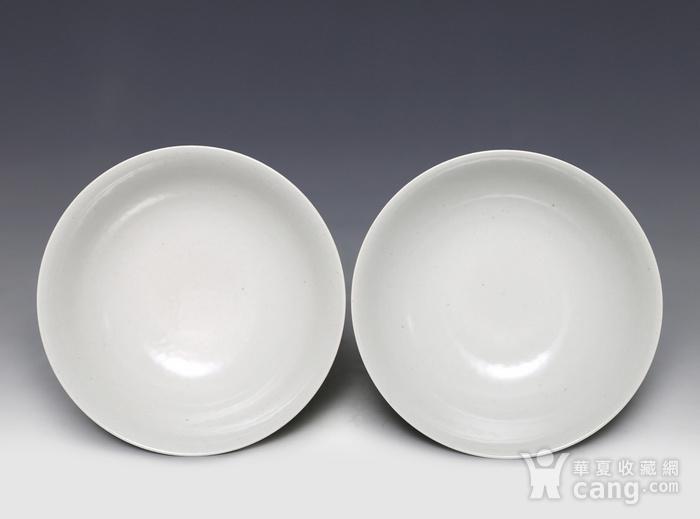 藏淘阁清五彩人物小碗一对美品CN05图5