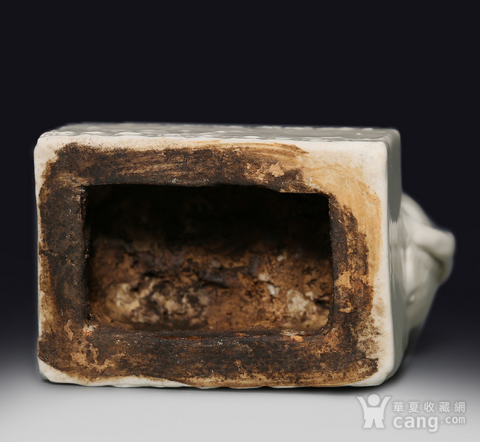 藏淘阁清代时期德化窑狮子油灯专家已经鉴定CN06图8