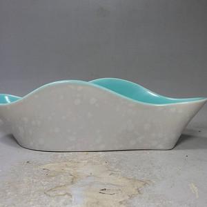 维多利亚时期波浪形水仙盆