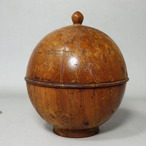 清代木质盖盒