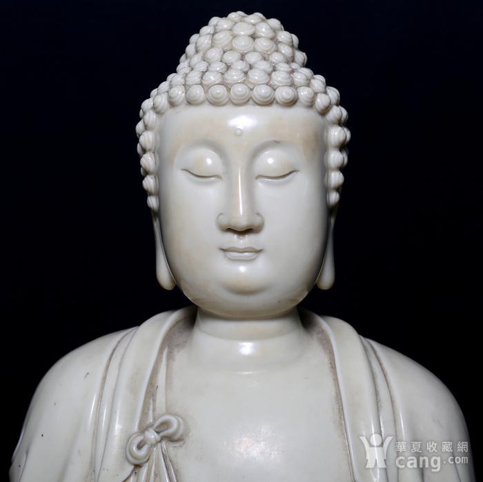 藏淘阁清中期德化窑如来大佛CN32图5