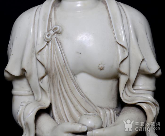 藏淘阁清中期德化窑如来大佛CN32图6